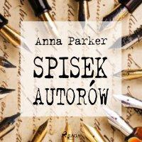 Spisek autorów - Anna Parker - audiobook