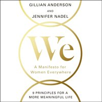 We: A Manifesto for Women Everywhere - Gillian Anderson - audiobook