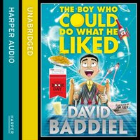 Boy Who Could Do What He Liked - David Baddiel - audiobook
