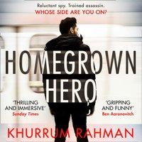 Homegrown Hero (Jay Qasim, Book 2) - Khurrum Rahman - audiobook
