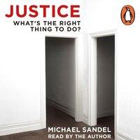 Justice - Michael J. Sandel - audiobook