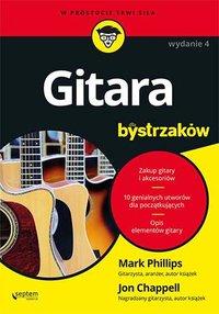 Gitara dla bystrzaków. Wydanie IV - Mark Phillips - ebook