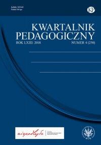Kwartalnik Pedagogiczny 2018/4 (250) - Adam Fijałkowski - eprasa