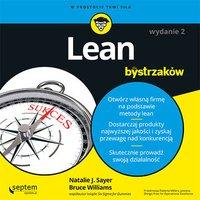Lean dla bystrzaków. Wydanie II - Natalie J. Sayer - audiobook
