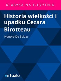 Historia wielkości i upadku Cezara Birotteau