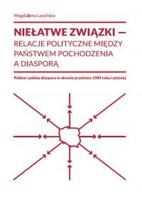 Niełatwe związki relacje polityczne między państwem pochodzenia a diasporą - Magdalena Lesińska - ebook