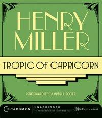 Tropic of Capricorn - Henry Miller - audiobook