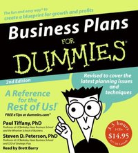 Business Plans for Dummies 2nd Ed. - Paul Tiffany - audiobook