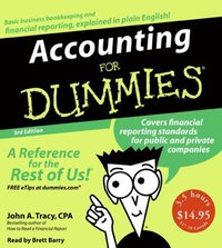 Accounting for Dummies 3rd Ed. - John A. Tracy - audiobook