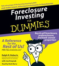 Foreclosure Investing For Dummies - Ralph R. Roberts - audiobook