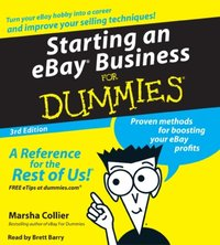Starting an E-Bay Business for Dummies - Marsha Collier - audiobook
