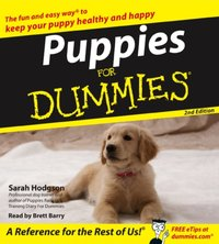 Puppies For Dummies - Sarah Hodgson - audiobook