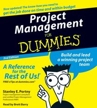 Project Management For Dummies - Stanley Portny - audiobook