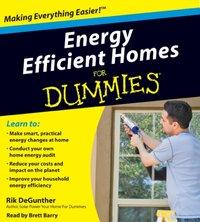 Energy Efficient Homes for Dummies - Rik DeGunther - audiobook