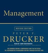 Management Rev Ed - Peter F. Drucker - audiobook