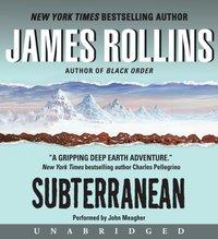 Subterranean - James Rollins - audiobook