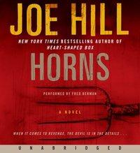 Horns - Joe Hill - audiobook