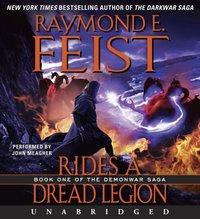 Rides a Dread Legion - Raymond E. Feist - audiobook