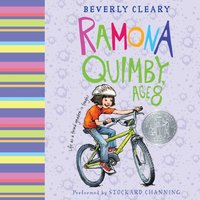 Ramona Quimby, Age 8 - Beverly Cleary - audiobook