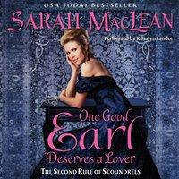 One Good Earl Deserves a Lover - Sarah MacLean - audiobook