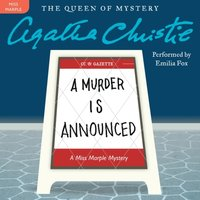 Murder Is Announced - Agatha Christie - audiobook