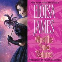 When the Duke Returns - Eloisa James - audiobook