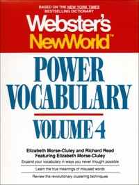 Webster's New World Power Vocabulary, Volume 4 - Elizabeth Morse-cluley - audiobook