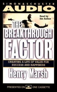 Breakthrough Factor - Henry Marsh - audiobook