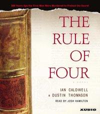Rule of Four - Ian Caldwell - audiobook