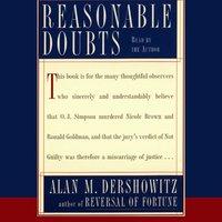 Reasonable Doubts - Alan M. Dershowitz - audiobook
