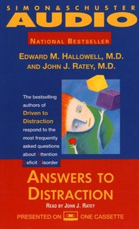 Answers to Distraction - Edward M. Hallowell - audiobook