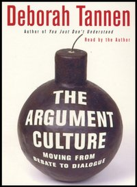 Argument Culture - Deborah Tannen - audiobook