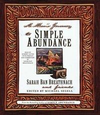 Man's Journey to Simple Abundance - Sarah Ban Breathnach - audiobook