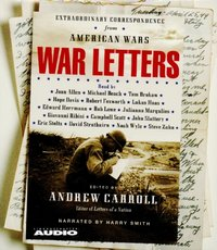 War Letters - Andrew Carroll - audiobook