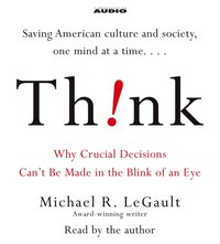 Think! - Michael R. LeGault - audiobook