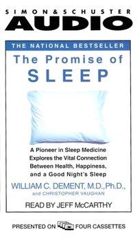 Promise of Sleep - William C. Dement - audiobook