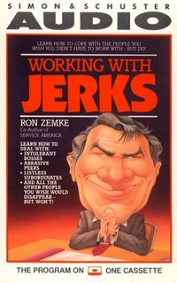 Working with Jerks - Ron Zemke - audiobook