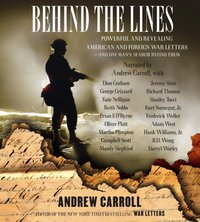 Behind the Lines - Andrew Carroll - audiobook