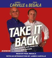 Take It Back - Paul Begala - audiobook