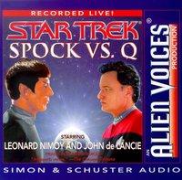 Spock Vs Q - Leonard Nimoy - audiobook