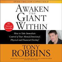 Awaken the Giant Within - Tony Robbins - audiobook