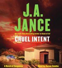Cruel Intent - J.A. Jance - audiobook