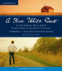 Fine White Dust - Cynthia Rylant - audiobook