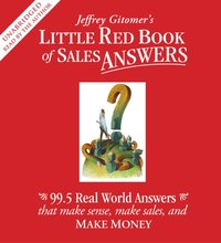 Little Red Book of Sales Answers - Jeffrey Gitomer - audiobook