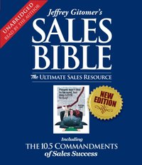 Sales Bible - Jeffrey Gitomer - audiobook