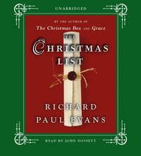 Christmas List - Richard Paul Evans - audiobook