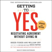 Getting to Yes - Roger Fisher - audiobook