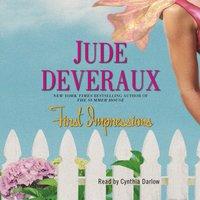 First Impressions - Jude Deveraux - audiobook