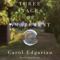 Three Stages of Amazement - Carol Edgarian - audiobook