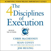 4 Disciplines of Execution - Sean Covey - audiobook